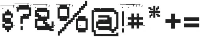 AlphaFoxDirty AlphaFoxDirty otf (400) Font OTHER CHARS