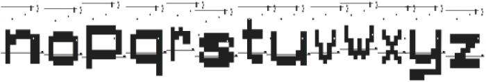 AlphaFoxDirty AlphaFoxDirty otf (400) Font LOWERCASE
