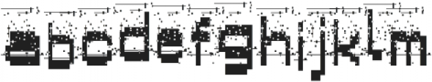 AlphaFoxVeryDirty AlphaFoxVeryDirty otf (400) Font LOWERCASE
