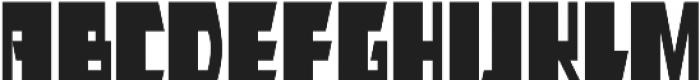 AlphaJazz otf (400) Font UPPERCASE