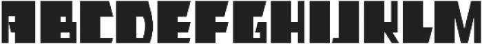 AlphaJazz otf (400) Font LOWERCASE