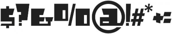 AlphaJazzAlt otf (400) Font OTHER CHARS