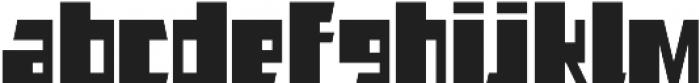 AlphaJazzAlt otf (400) Font LOWERCASE