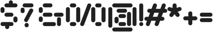AlphaPapa otf (400) Font OTHER CHARS