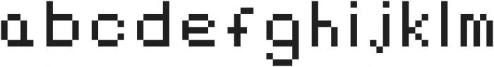 Alpharush ttf (400) Font LOWERCASE