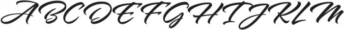 Alpine Script otf (400) Font UPPERCASE