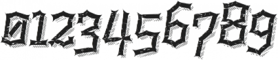 Alquitran Rust Destroy More Shadow line otf (400) Font OTHER CHARS