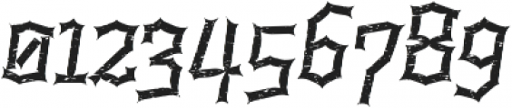 Alquitran Rust Destroy otf (400) Font OTHER CHARS