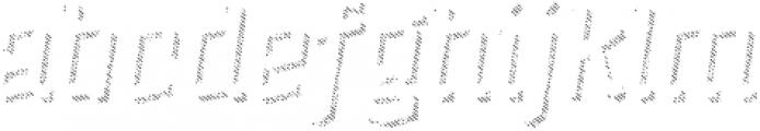 Alquitran Rust Shadow Line otf (400) Font LOWERCASE