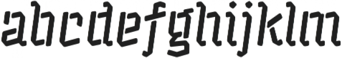 Alquitran Stencil Bold Rounded otf (700) Font LOWERCASE