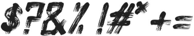 Alt Silent Scream Italic ttf (400) Font OTHER CHARS