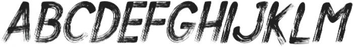 Alt Silent Scream Italic ttf (400) Font UPPERCASE