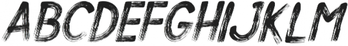Alt Silent Scream Italic ttf (400) Font LOWERCASE