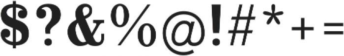 Alta Mesa Fill Regular otf (400) Font OTHER CHARS