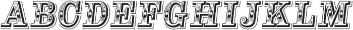 Alta Mesa L Regular Italic otf (400) Font UPPERCASE