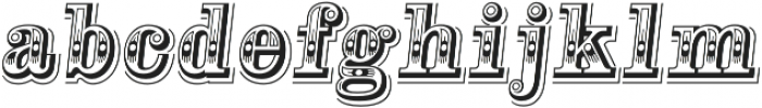 Alta Mesa L Regular Italic otf (400) Font LOWERCASE