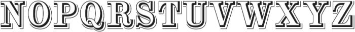 Alta Mesa Open L Regular otf (400) Font UPPERCASE