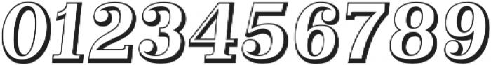Alta Mesa Open Regular Italic otf (400) Font OTHER CHARS