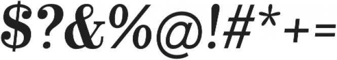 Alta Mesa Plain Regular Italic otf (400) Font OTHER CHARS
