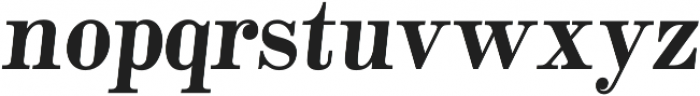 Alta Mesa Plain Regular Italic otf (400) Font LOWERCASE