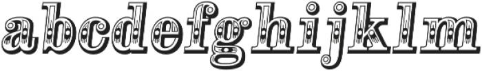 Alta Mesa Regular Italic otf (400) Font LOWERCASE
