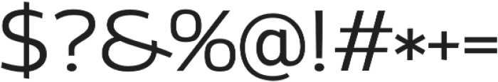 Altair Light otf (300) Font OTHER CHARS