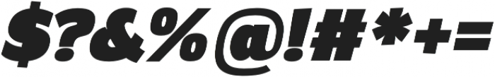 Altair Ultra Italic otf (900) Font OTHER CHARS