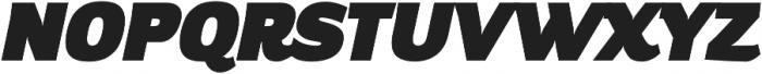Altair Ultra Italic otf (900) Font UPPERCASE