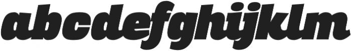 Altair Ultra Italic otf (900) Font LOWERCASE