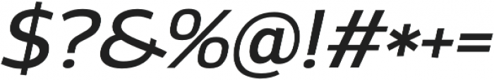 Altair otf (400) Font OTHER CHARS
