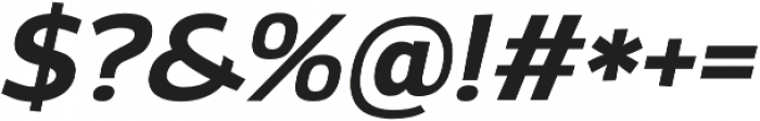 Altair otf (700) Font OTHER CHARS