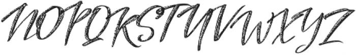 Alter Ego textured otf (400) Font UPPERCASE