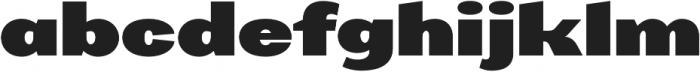AlterGlam Heavy otf (800) Font LOWERCASE