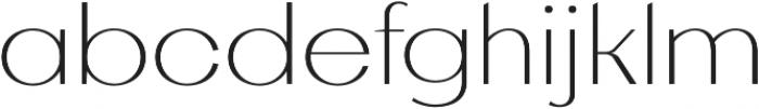 AlterGlam Thin otf (100) Font LOWERCASE