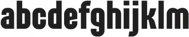 Alterhard otf (700) Font LOWERCASE