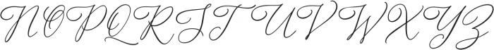Alternation otf (400) Font UPPERCASE