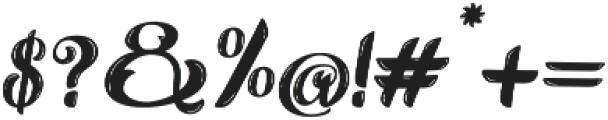 Alternative otf (400) Font OTHER CHARS