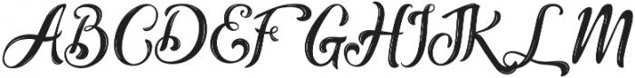 Alternative otf (400) Font UPPERCASE
