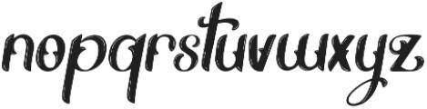 Alternative otf (400) Font LOWERCASE