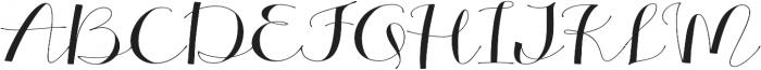 Alterscript Extended otf (400) Font UPPERCASE