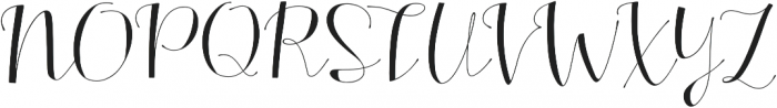 Alterscript otf (400) Font UPPERCASE