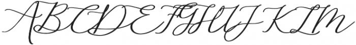 Althea Bold otf (700) Font UPPERCASE