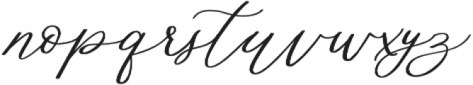 Althea Bold otf (700) Font LOWERCASE