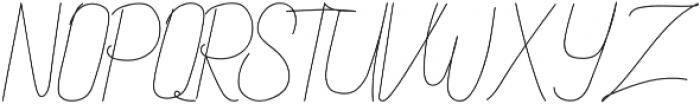 Althype otf (400) Font UPPERCASE