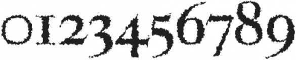 Aludra Distorted otf (400) Font OTHER CHARS