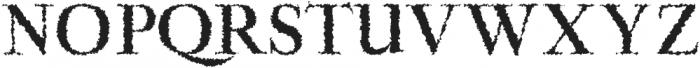 Aludra Distorted otf (400) Font UPPERCASE