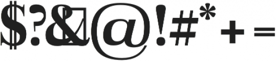 Aludra Extra Bold otf (700) Font OTHER CHARS