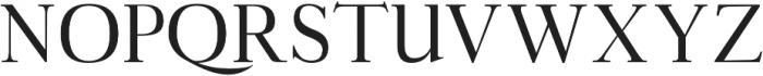 Aludra otf (400) Font UPPERCASE