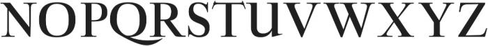 Aludra otf (700) Font UPPERCASE