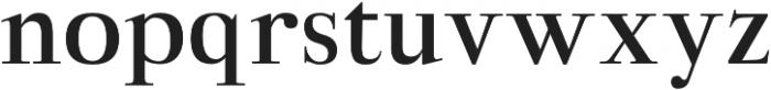 Aludra otf (700) Font LOWERCASE